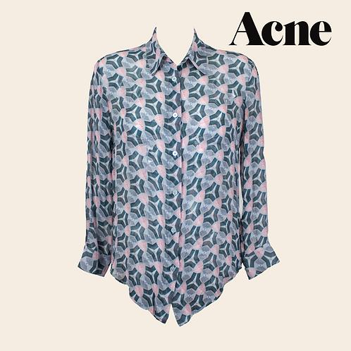 Acne Silk Blouse / Size 34
