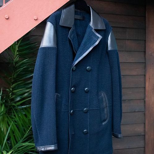 McQueenNavy Coat