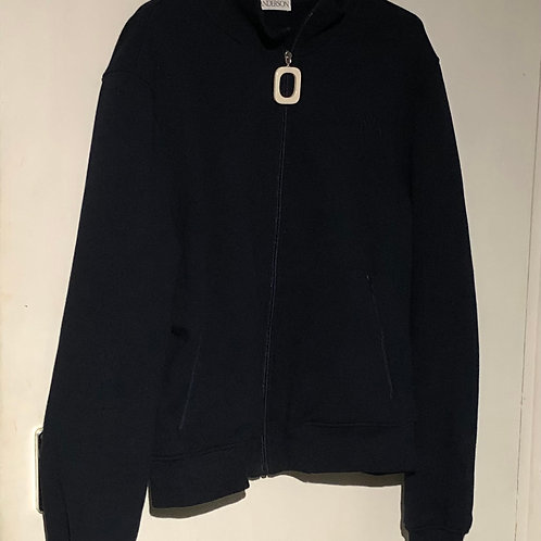 J W ANDERSON Navy Track Sweater Size L