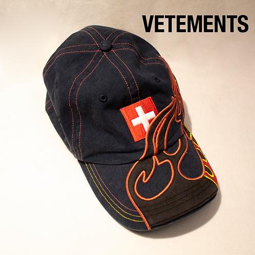 Vetements Fire Cap / One Size