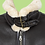Thumbnail: New Aviator Shearling Leather Jacket / Size XL