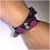 Thumbnail: Alexander McQueen Purple Python Wrap Bracelet