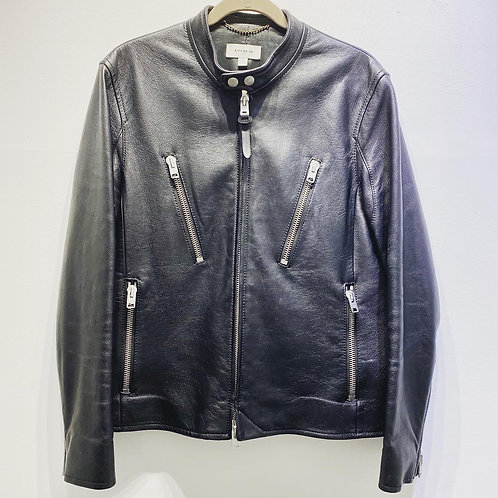 Coach Leather Racer Jacket - Size US 50