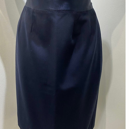 Chanel Boutique Navy Skirt Size FR 40