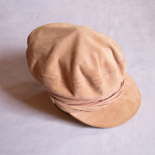 Maison Michel Suede Sailor Cap