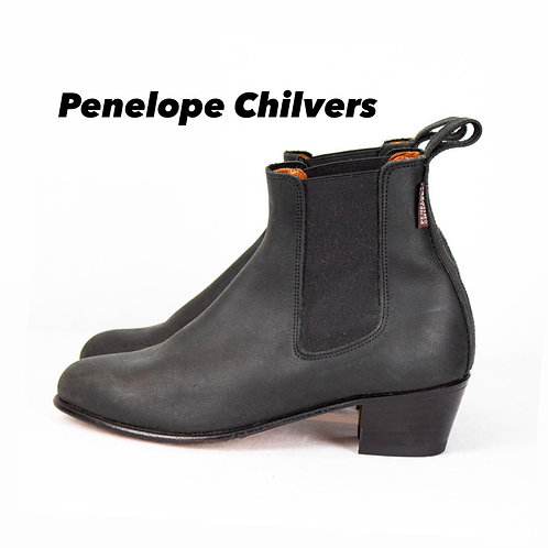 Penelope Chilvers Leather Chelsea Boot Size 37.5