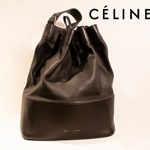 CELINE Large Drawstring Bucket Bag
