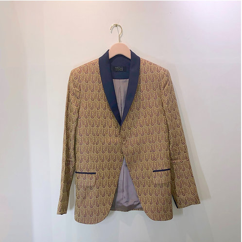 Hatice Gökçe Silk Paisley Evening Jacket