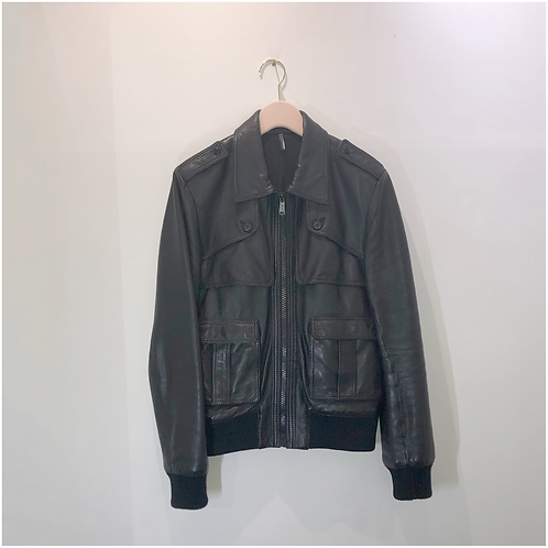 Dior Homme Leather Jacket - Size IT 48