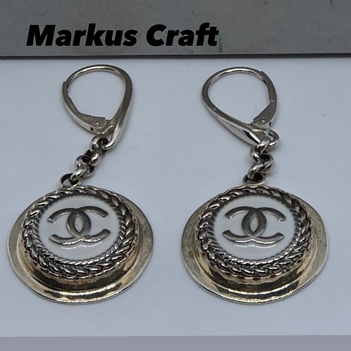 Vintage Chanel Buttons Handcrafted By Markus Craft