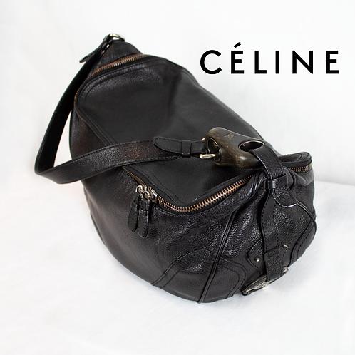 Celine Black Macadam Bag