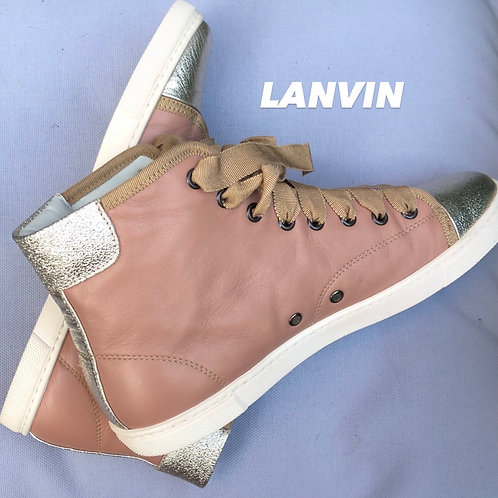 Lanvin High-top Sneakers - Size IT 38