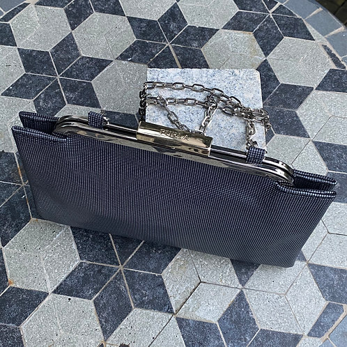 Leather Furla Clutch on Chains