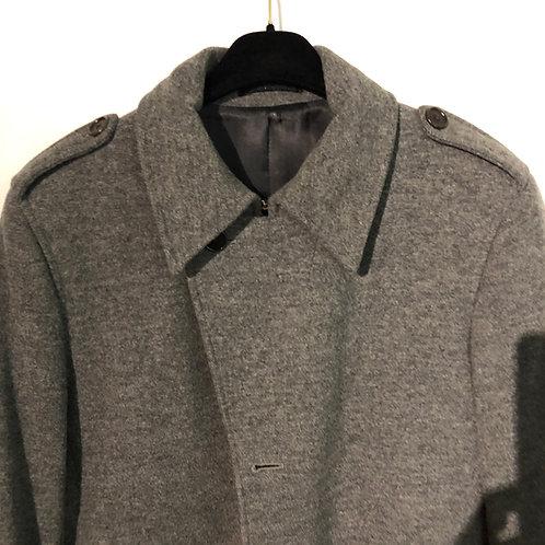 PAUL SMITH GREY WOOL COAT size Medium