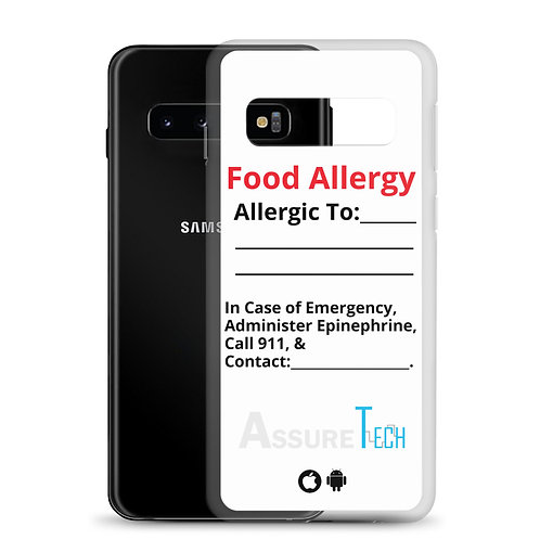 Medical Alert Samsung Case