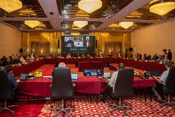 اجتماع أعضاء مجلس الاتحاد الدولي للسباحة