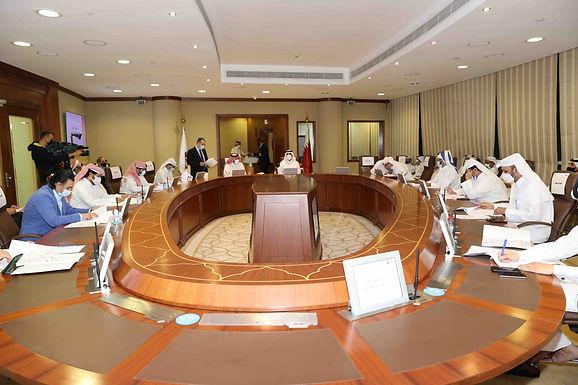 إجتماع الجمعية العمومية العادية للاتحاد القطري للسباحة مارس 2021