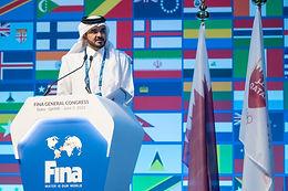 المسلم رئيساً للاتحاد الدولي للسباحة