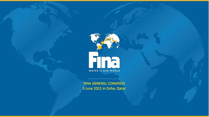 FINA GENERAL CONGRESS.5 June 2021 in Doha, Qatar