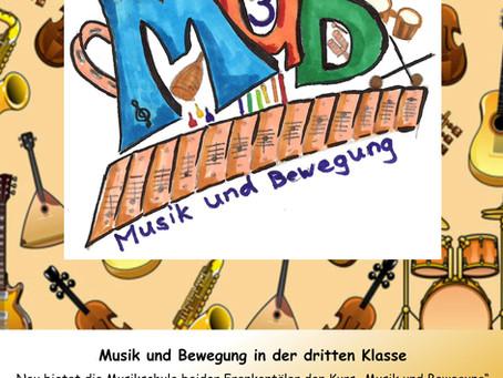 """Kurs """"Musik & Bewegung 3"""""""