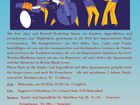 """Band-Workshop """"Jazz and Beyond"""""""