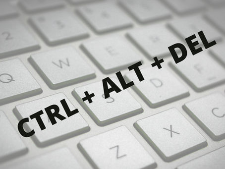 CTRL-ALT-DEL... Is it time to reboot your habits?