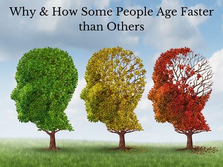 Entropy - Why & How Some Age Faster than Others