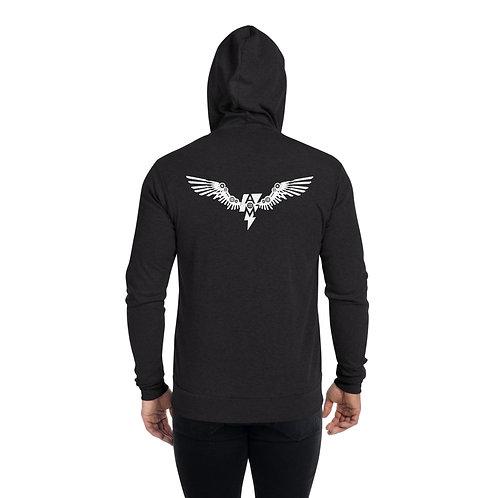 AOM Unisex zip hoodie