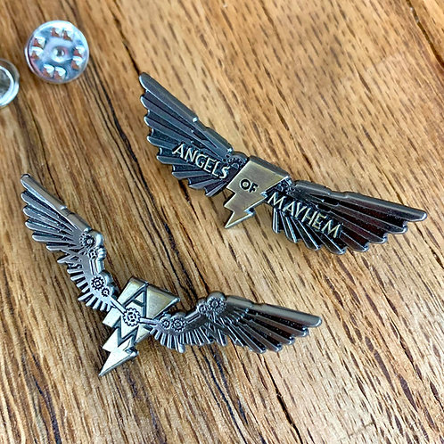 AOM Antique Enamel Pin Set