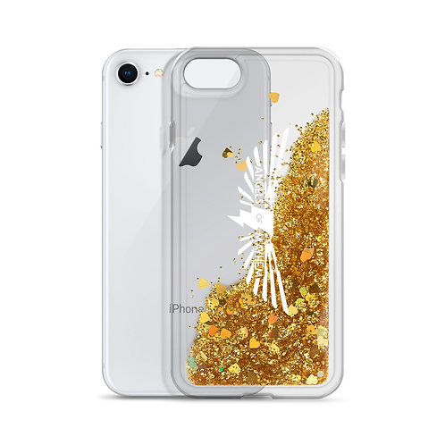 Angels Liquid Glitter Phone Case