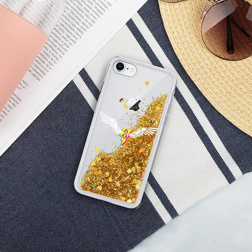 Ground Control Liquid Glitter Phone Case