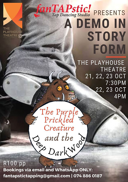 The Purple Prickled Creature and the Deep Dark Wood