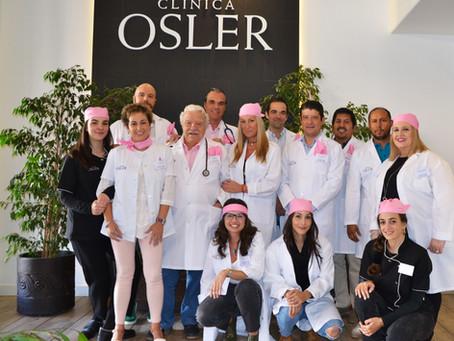 OSLER se suma al Rosa por el Día mundial contra el Cáncer de Mama