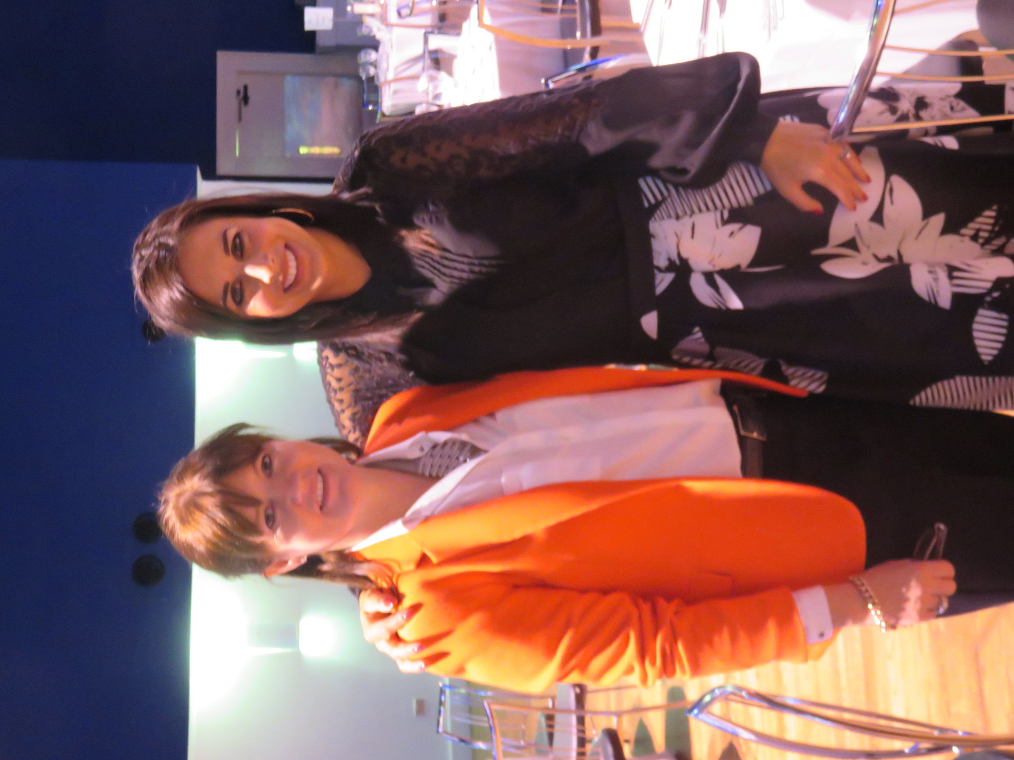 With the lovely Lucy Kennedy in The Mansion House