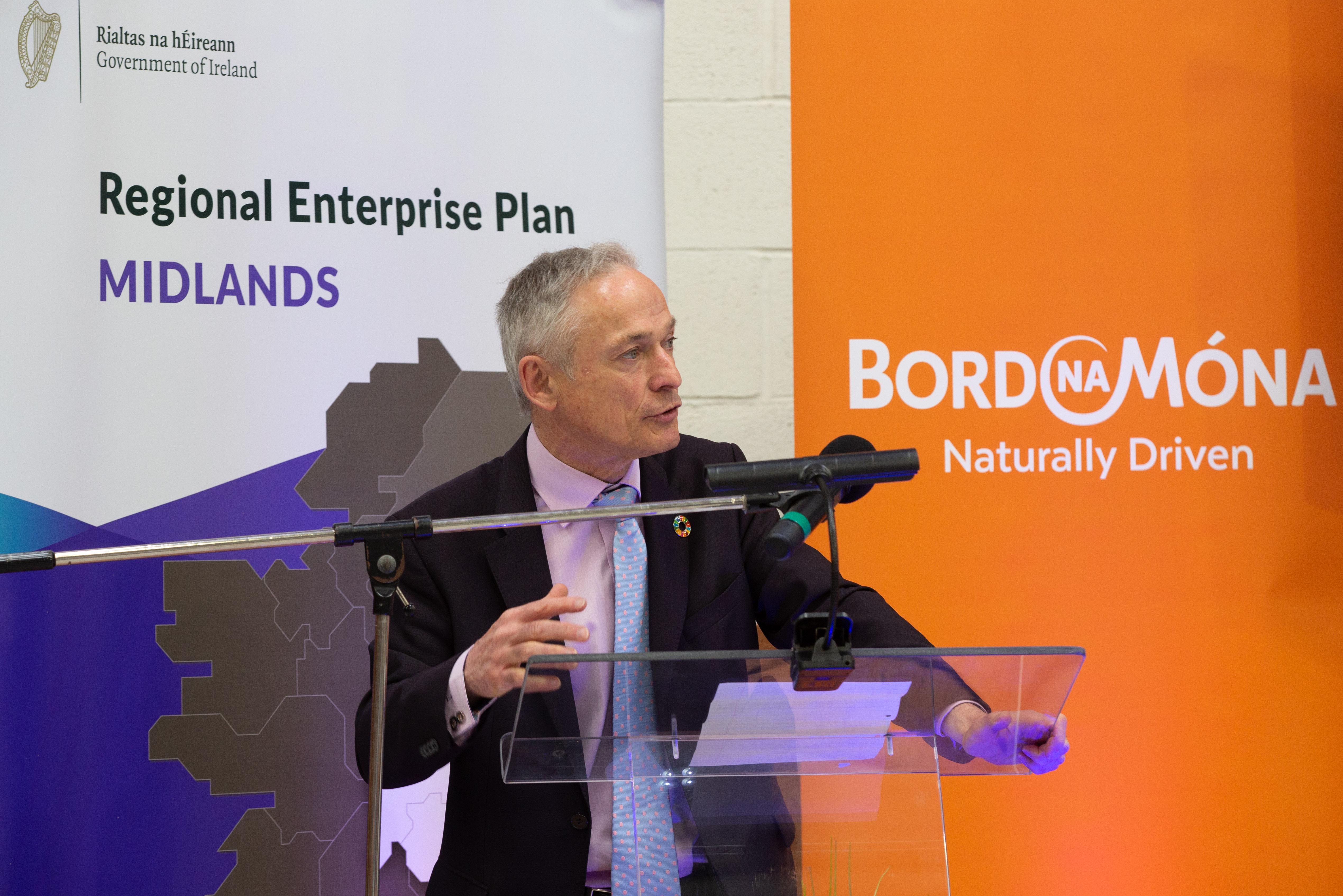 Minister John Bruton at Jobs Skills & Education Fair 2019