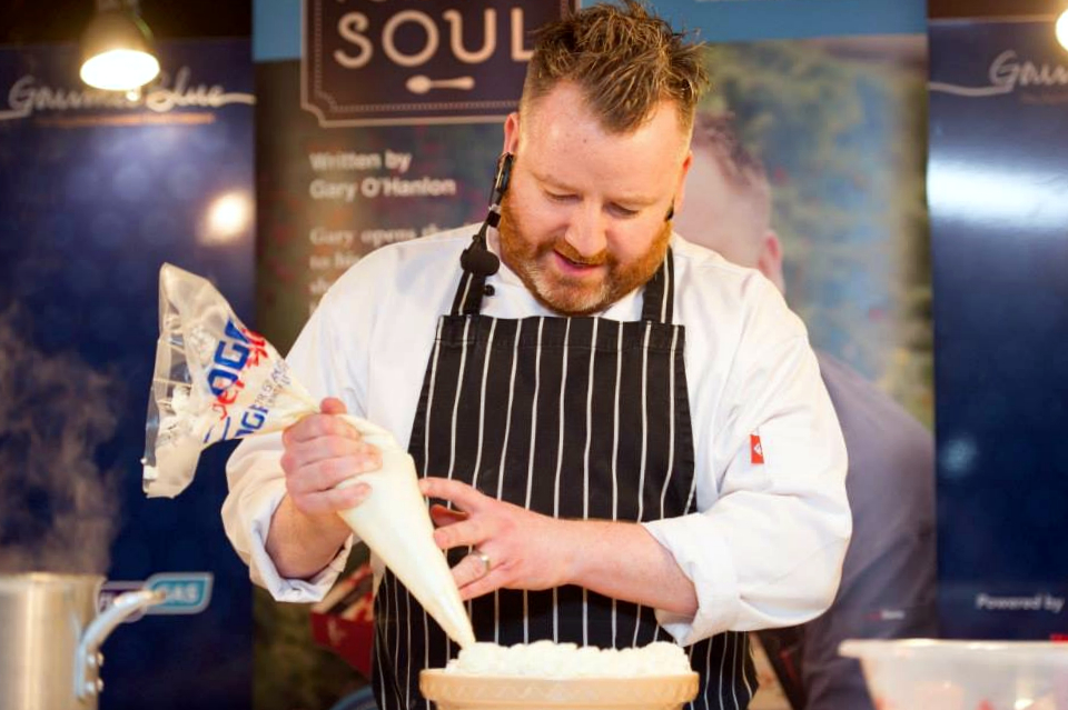 Professional Chef Gary O'Hanlon demo at 3-day Longford Festival