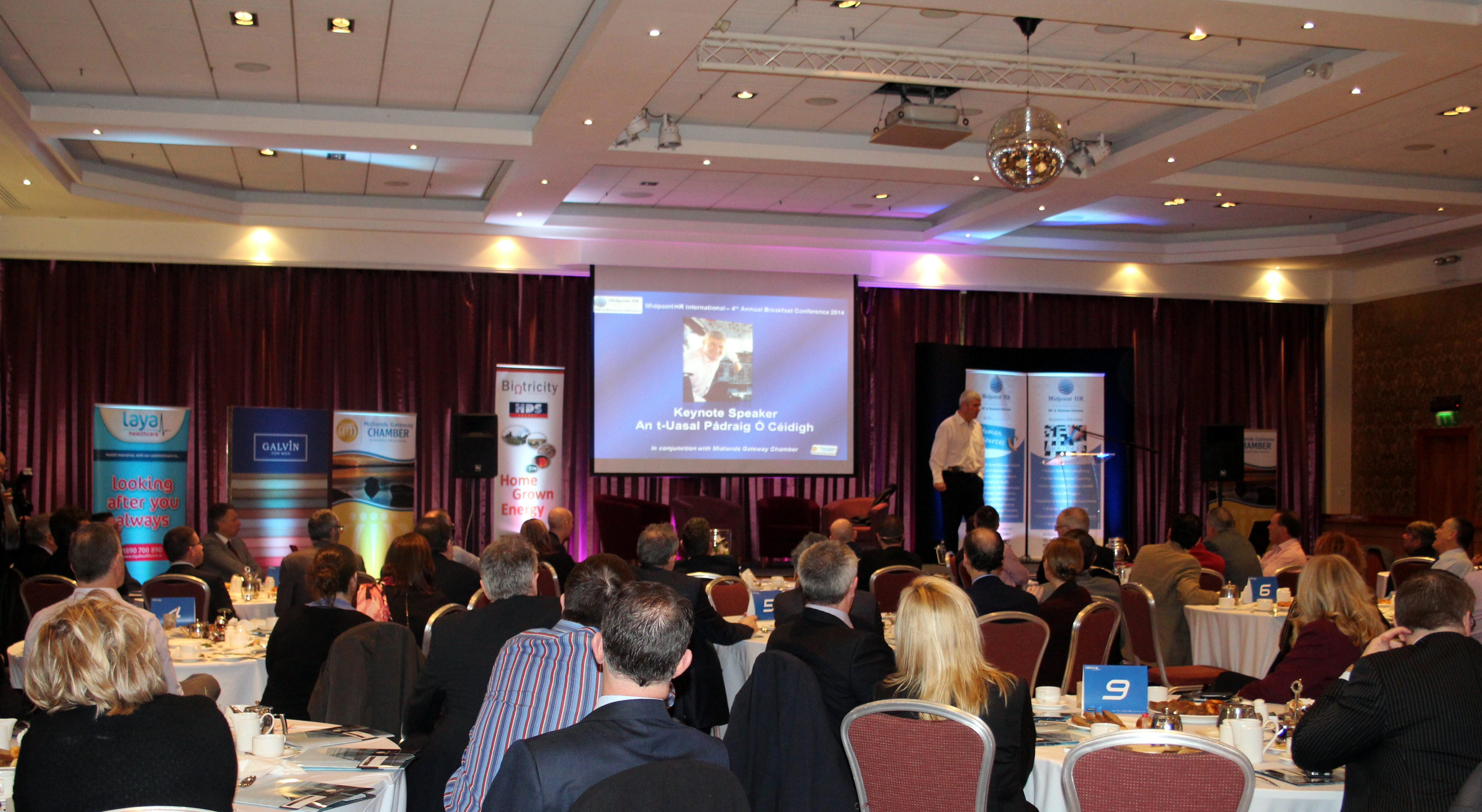 Business Conference in Tullamore
