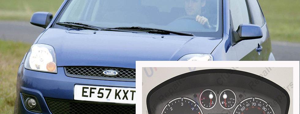 Ford Fiesta Instrument Cluster Speedometer Mk6 Repair & Rebuild Service