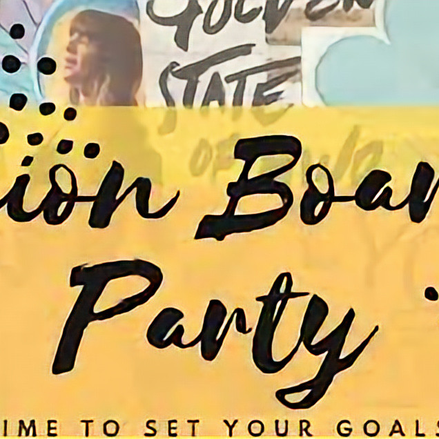 Vision Board Party with Prizes and Incentives!