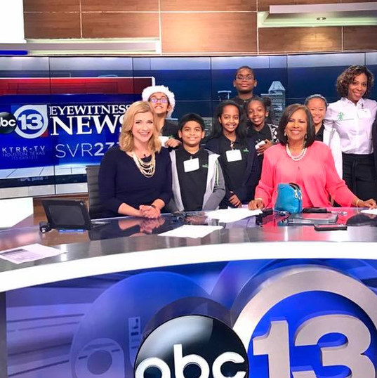 Broadcast Student Field Trip to ABC13