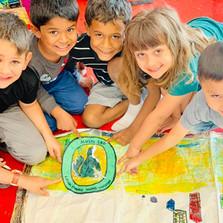 Wilder Gathering Kids Art Students