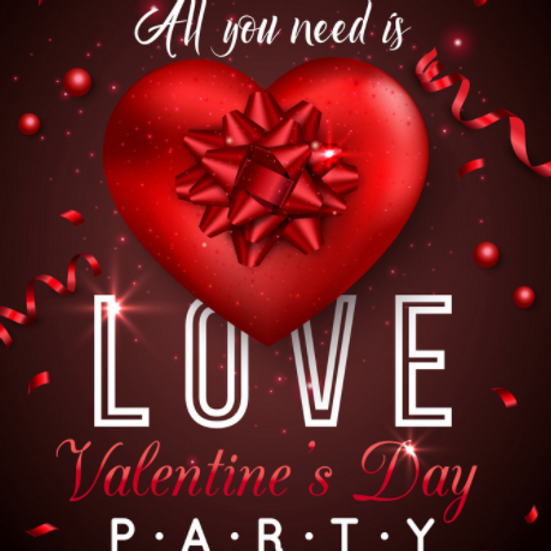 Valentine's Day Community Family Party