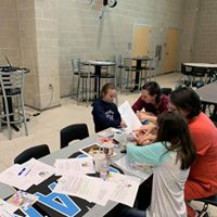 Gathering Outreach and Alvin ISD Conducting a Vision Board Workshop for Kids/Adults
