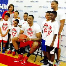 Gathering Kids at York Meets NBA Player