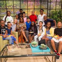 Gathering Kids On Great Day Houston with Debra Duncan