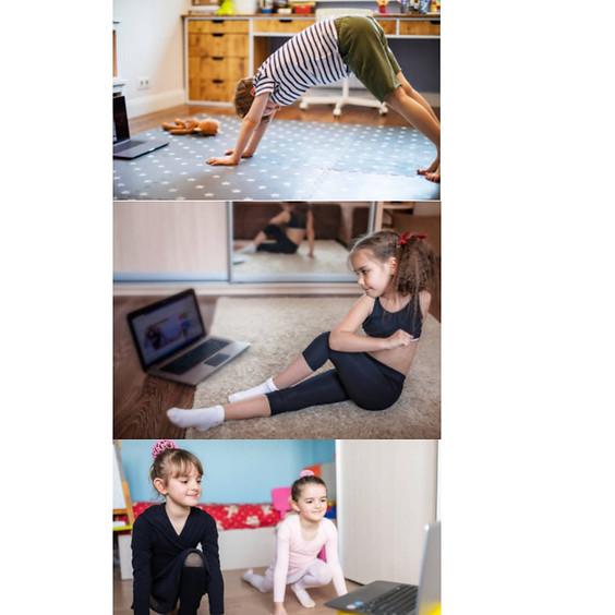After School Online Student Workout Class