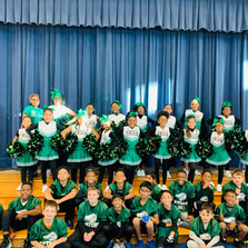 Wilder Cheer, Dance, and Sports Students