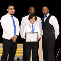 Gathering Kids Sports Student Recognized