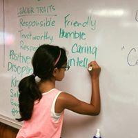 Gathering Kids Talk Leadership Traits at Camp