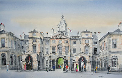 london horse guards art